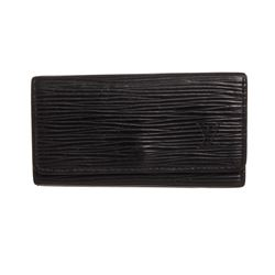 Louis Vuitton Black Epi Leather 4 Key Holder
