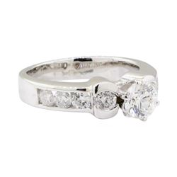 1.56 ctw Diamond Ring - 14KT White Gold