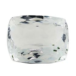 7.60 ct.Natural Rectangle Cushion Cut Aquamarine