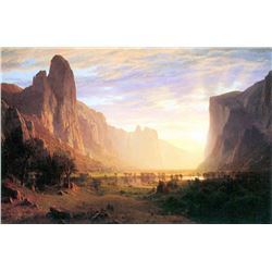 Yosemite Valley 3 by Albert Bierstadt
