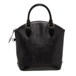 Louis Vuitton Black Epi Leather Vertical Lockit Bag