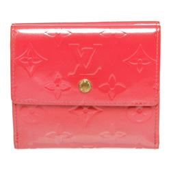 Louis Vuitton Pink Vernis Leather Elise Wallet