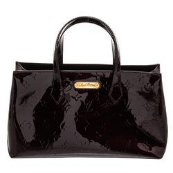 Louis Vuitton Amarante Monogram Vernis Leather Wilshire PM Bag