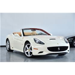 2011 White Ferrari California Base Convertible