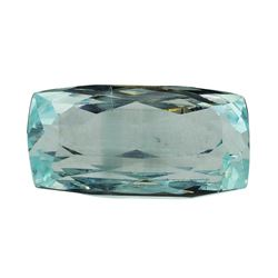 10.53 ct.Natural Cushion Cut Aquamarine