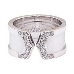 0.24 ctw Diamond Band - 18KT White Gold