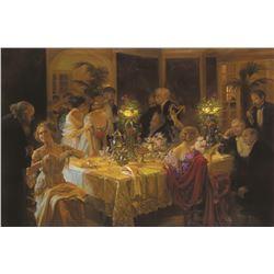 Jules-Alexandre Grun Dinner Party