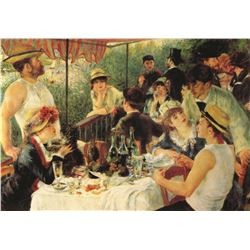 Pierre-August Renoir Boating Party
