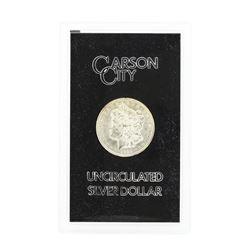 1885 Carson City Uncirculated Silver Dollar