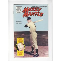 Mickey Mantle Issue #1 by Magnum Comics