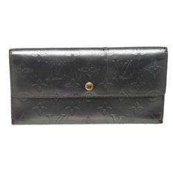 Louis Vuitton Charcoal Monogram Mat Leather International Wallet