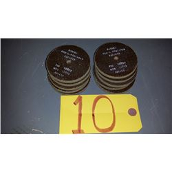 "Radiac Polishing Disc 3""x 1/4"" x 1/8"""