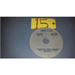 "Rex-Cut Unitized Polishing Wheel 6""x 1/2""x 1""1/4 Grit: A120"