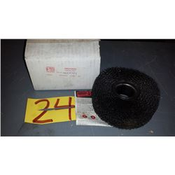 "Wire Wheel Brush 5"" x 2"""
