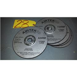 "Airtek grinding 7""x 1/4""x 7/8"""