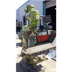 Bridgeport Milling Machine with Digital Read Out