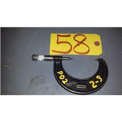 "Starrett modified Micrometer 2""-3"""