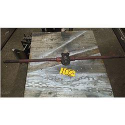 TOLEDO manual Triple Thread Pipe Cutter 1/2  - 3/4  - 1