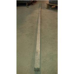 """Aluminum Square Rod 100"""" x 1""""1/4 x 1""""1/4"""