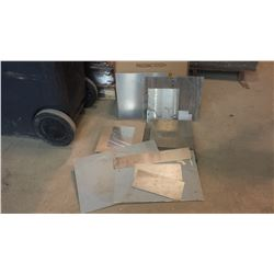 Lot of assorted Stainless, Aluminum and other Steel possible