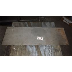 "*Barely Magnetic Steel Plate 36"" x 12""3/4 x 1/4"""