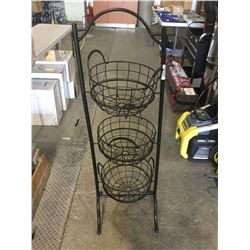Metal 3 Tier Floor Caddy