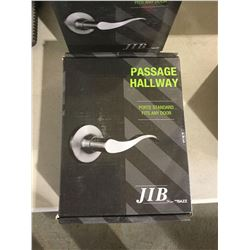 Jib Passage Hallway Door Handle Kit