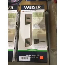 Weiser Door Handle w/ Interior Lever
