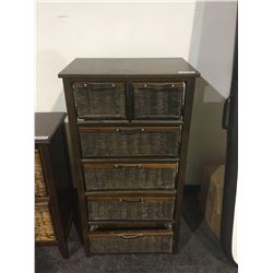 Upright6-Cubby Storage Cabinet