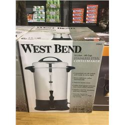 West Bend 10L Stainless Steel Coffeemaker