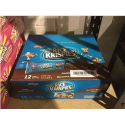 RiceKrispiesSquares Double Chocolatey Chunk Bars (12 x 85g)