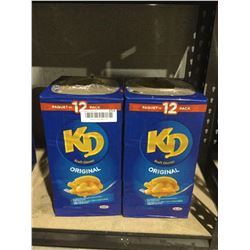 Kraft Dinner Original (12 x225g) Lot of 2