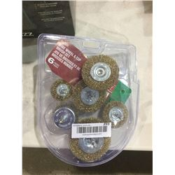 Wire Wheel and Cup Brush Set