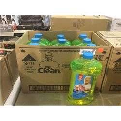 Case of Mr. Clean Disinfectant (9 x 1.2L)