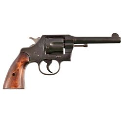 San Antonio Arsenal Marked Colt Official Police 38