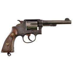 U.S. Property Marked Smith & Wesson .38 Revolver