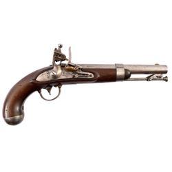 U.S. Waters Model 1836 Flintlock Pistol