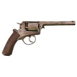 Engraved Adams / Tranter .44 Percussion Revolver