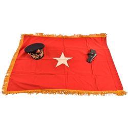 General Hollingsworth's Officers Cap Flag Holster