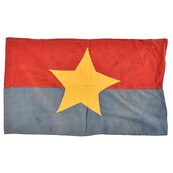 1968 Captured NVA North Vietnamese Army Flag