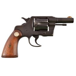 Lt. W.A. McManus S&W Official Police .38 Revolver