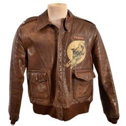 WWII A-2 Flying Jacket 425th Night Fighter Sq