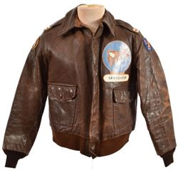 WWII A-2 Flying Jacket 54th Fighter Squadron