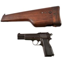 WWII Browning Hi-Power Mk. 1 9mm Inglis