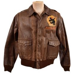 W.E. Nixon 471st Bomb Squadron A-2 Flying Jacket