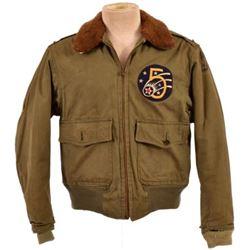 WWII U.S. B-10 Cloth Flying Jacket 5th Air Force