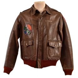 WWII Lt. Alden R. Crawford's A1-2M Flying Jacket