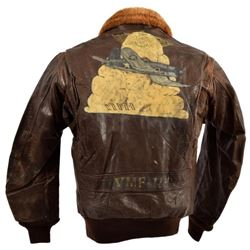 USN/USMC G-1 Leather Flying Jacket VMF-114