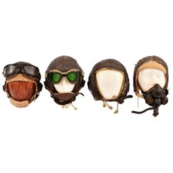 U.S. Army Air Forces Leather Flight Helmets