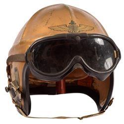 Korean War U.S. Navy H4 Fighter Flight Helmet